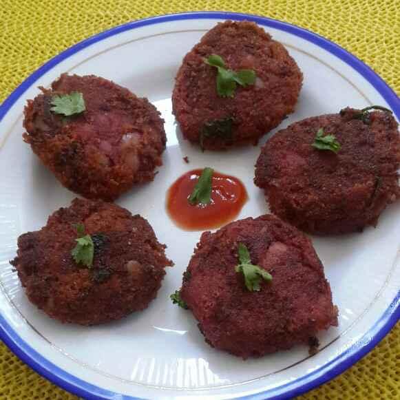 How to make Rajma Beet Cutlets