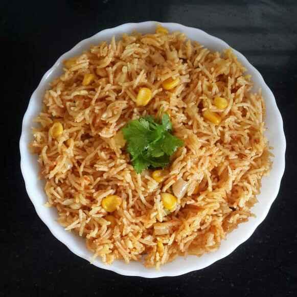 Photo of Corn Tomato Pulao by Sowmya Sundar at BetterButter