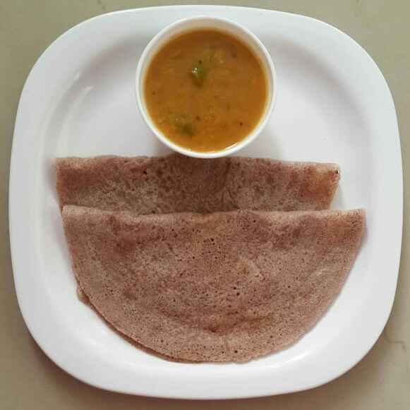 Photo of Ragi Urad dal Dosa by Sowmya Sundar at BetterButter