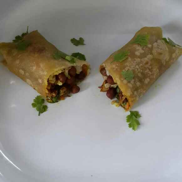 Photo of Chickpeas Buritto by Sowmya Sundar at BetterButter