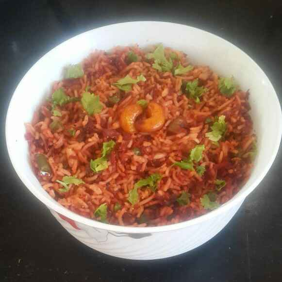 Photo of Beetroot Carrot Rice by Sowmya Sundar at BetterButter