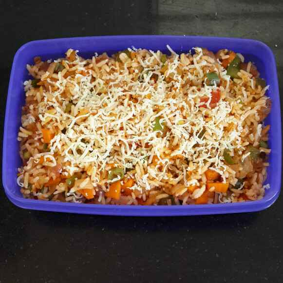Photo of Pizza Fried Rice by Sowmya Sundar at BetterButter