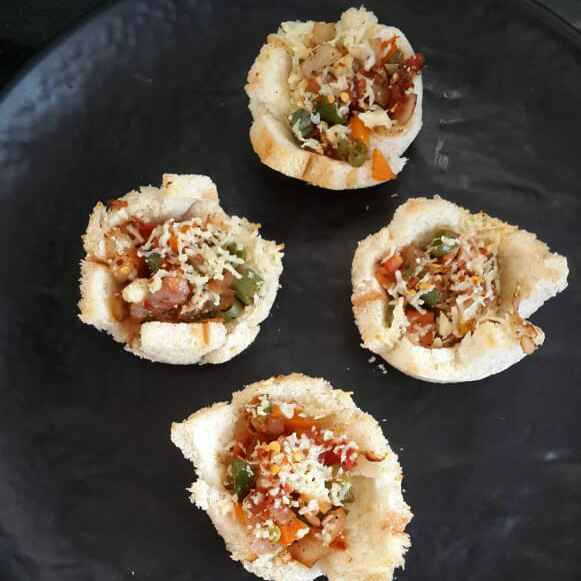 Photo of Cheesy Vegetable Bread Cups by Sowmya Sundar at BetterButter