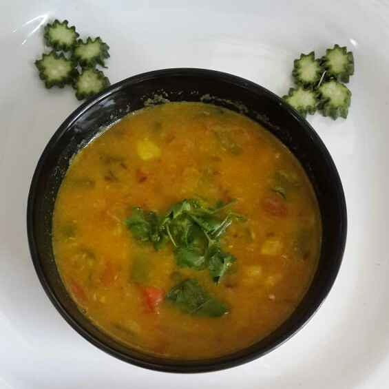 Photo of Ridgegourd Dal Shorba by Sowmya Sundar at BetterButter