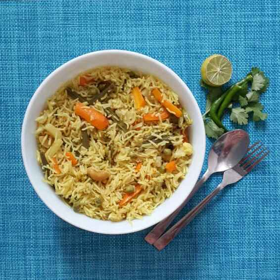 How to make Curd Vegetable Pulao