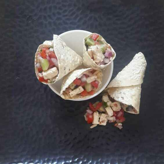 Photo of Papad Cone Paneer Chat by Sowmya Sundar at BetterButter