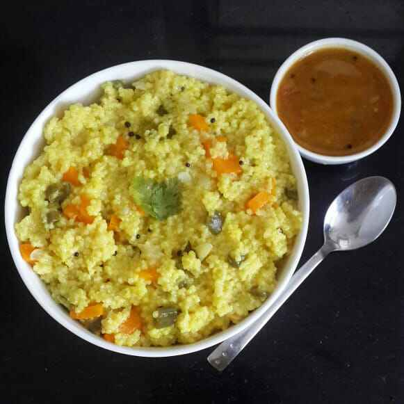 Photo of Foxtail millet Vegetable Kichadi(OPOS method) by Sowmya Sundar at BetterButter