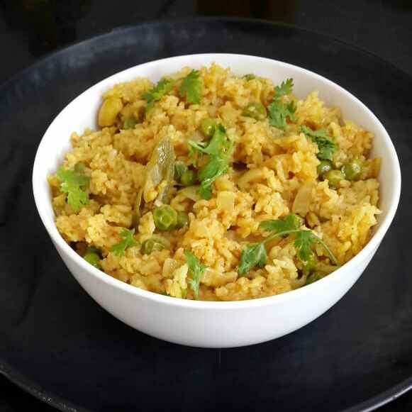 Photo of Tomato Peas Rice by Sowmya Sundar at BetterButter