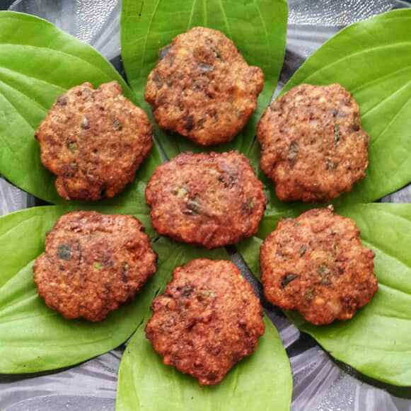Photo of Mom's Special Betel Leaves Vadai by Sowmya Sundar at BetterButter