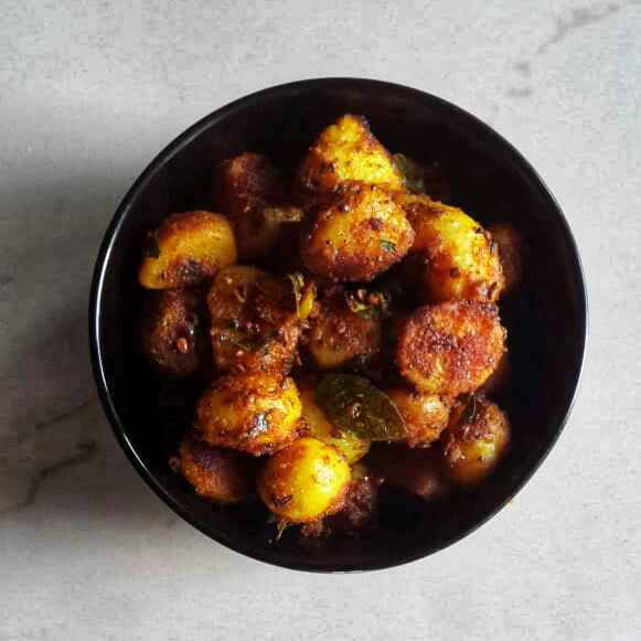 Photo of Spicy Potato Curry by Sowmya Sundar at BetterButter