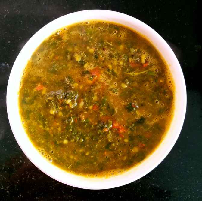 Photo of Andhra Style Palak Pappu by Sowmya Sundar at BetterButter