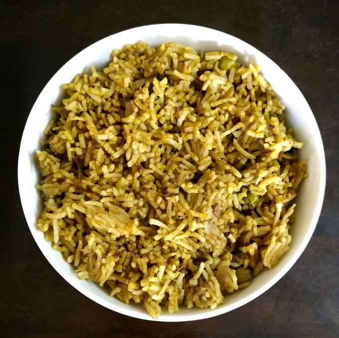 Photo of Healthy Green Pulao by Sowmya Sundar at BetterButter