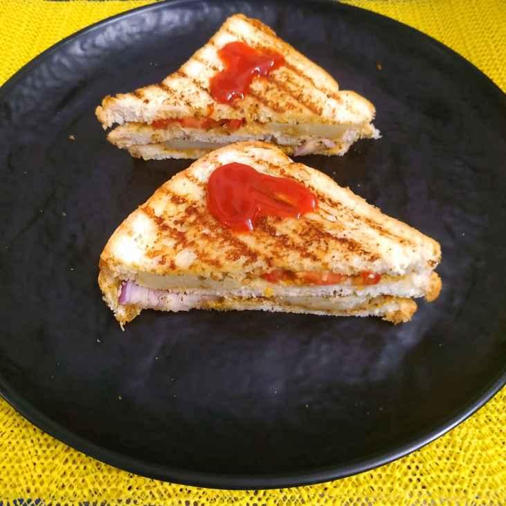 Photo of Bombay Vegetable Sandwich by Sowmya Sundar at BetterButter