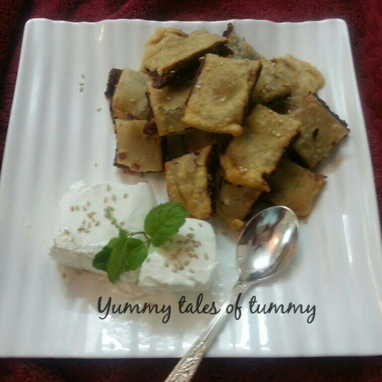 Photo of Date pancakes with vanilla icecream by Lata Lala at BetterButter