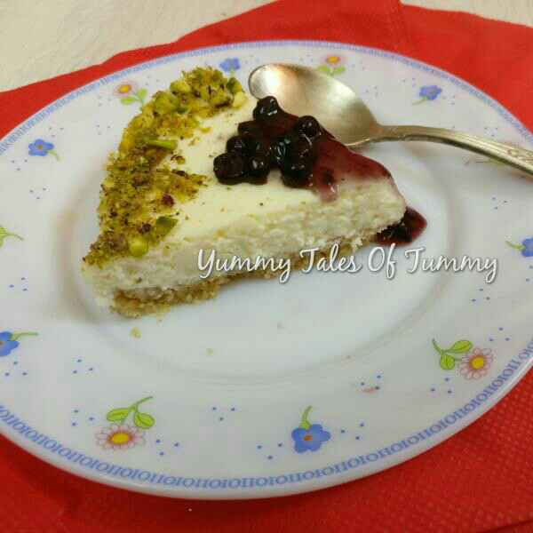 Photo of Hung Curd Cheesecake With Almond-Oats Crust by Lata Lala at BetterButter