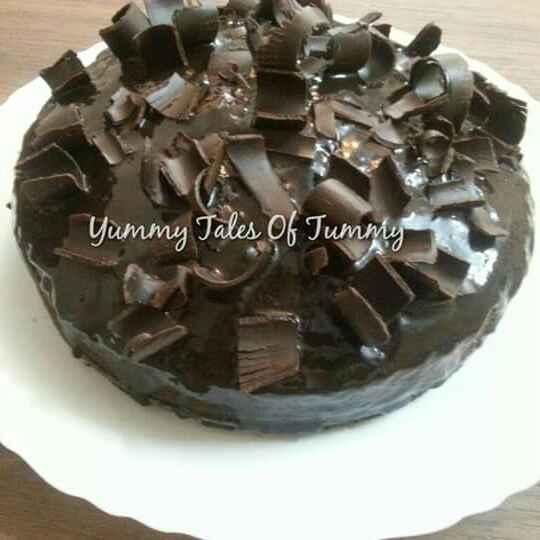 Photo of Ragi/nachni wholewheat and choclate cake by Lata Lala at BetterButter