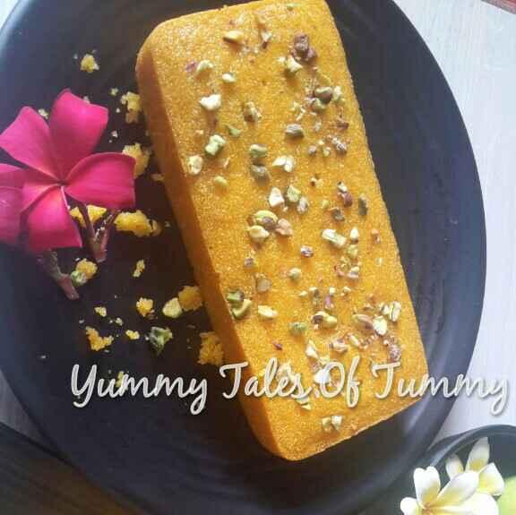 How to make Semolina Nd mango cake