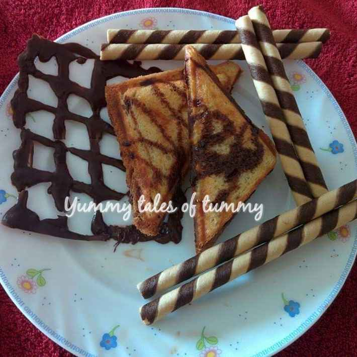Photo of Choclate sandwhich by Lata Lala at BetterButter