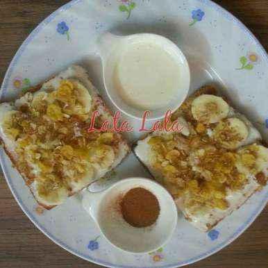 Photo of Malai sugar open toast by Lata Lala at BetterButter