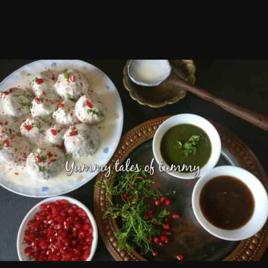 Photo of Leftover dough Dahi vadas by Lata Lala at BetterButter
