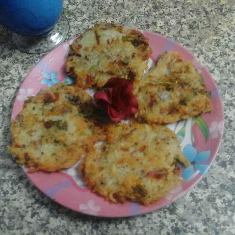 How to make Cheese Potato Pancake