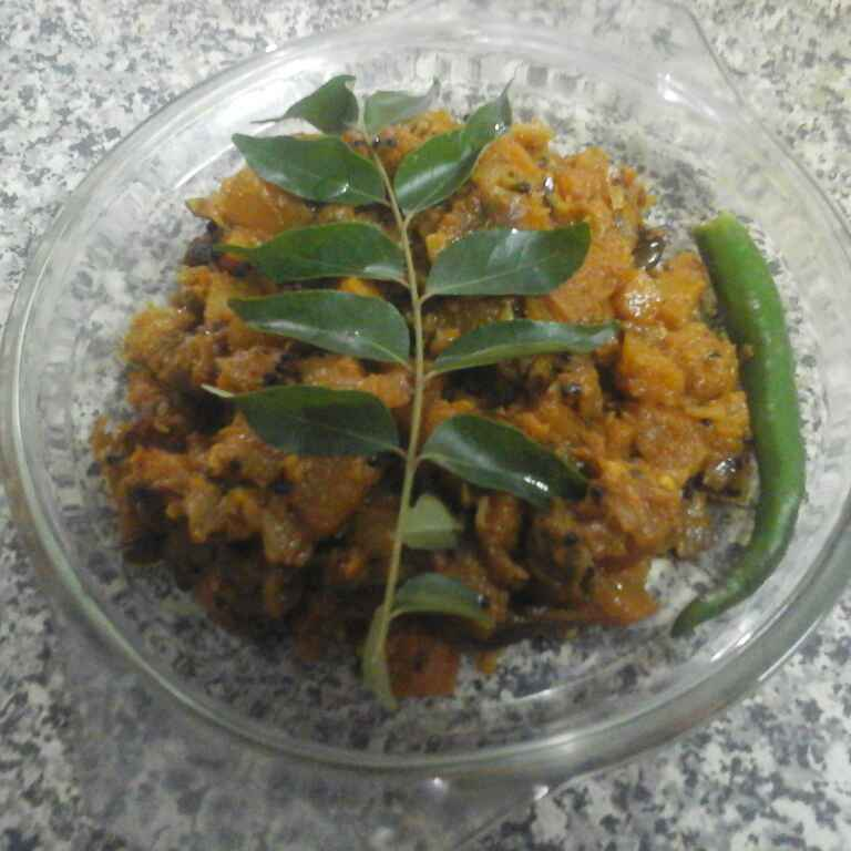 How to make Pumpkin Curry