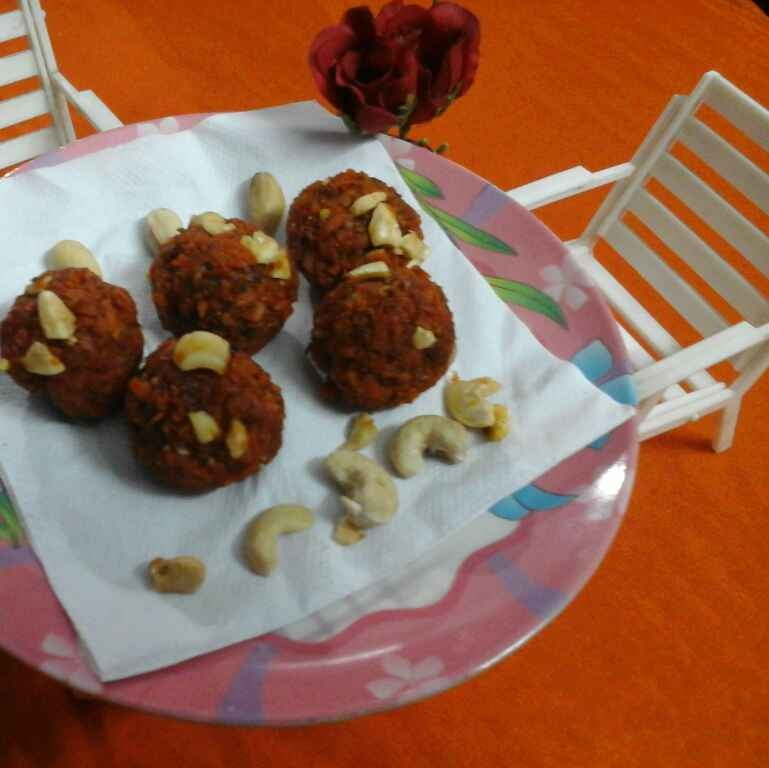 Photo of Carrot Ladoo. by Latha Nair at BetterButter