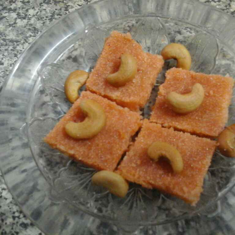 How to make Mixed fruits jam kesari