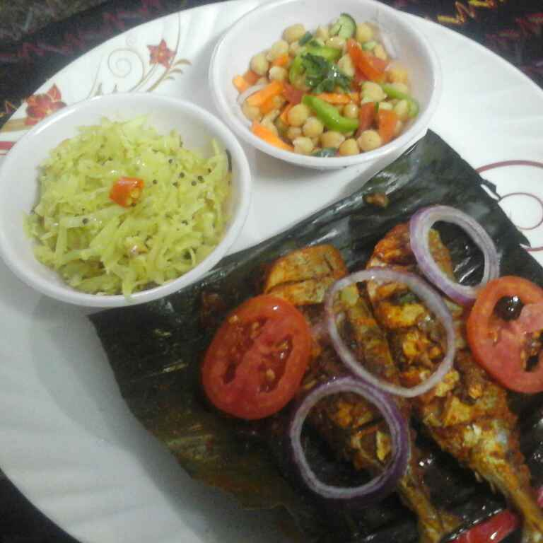 Photo of Steamed fish,in banana leaf. by Latha Nair at BetterButter
