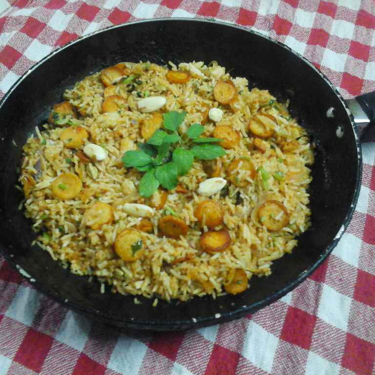 How to make Arabian Rice.
