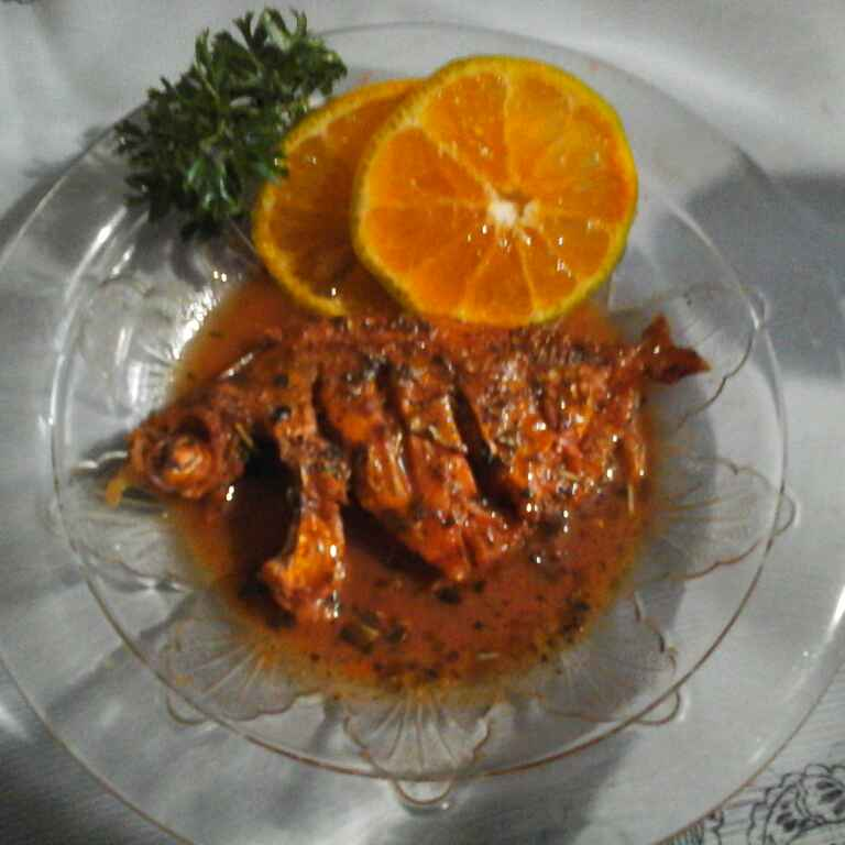 How to make Fish in Orange sauce.