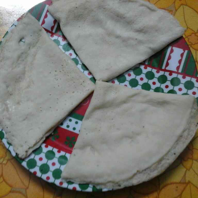 How to make Palaada.(Rice crepes)