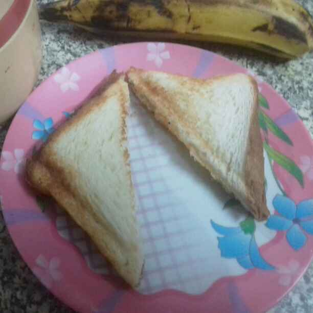 Photo of Banana Toast. by Latha Nair at BetterButter