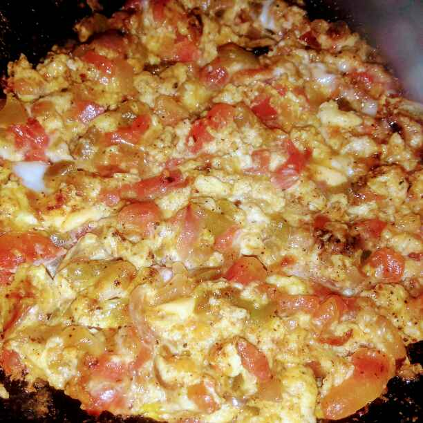 Photo of Menemen (Turkish breakfast ) by Latha Nair at BetterButter