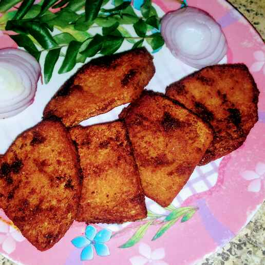 How to make Yam fry.