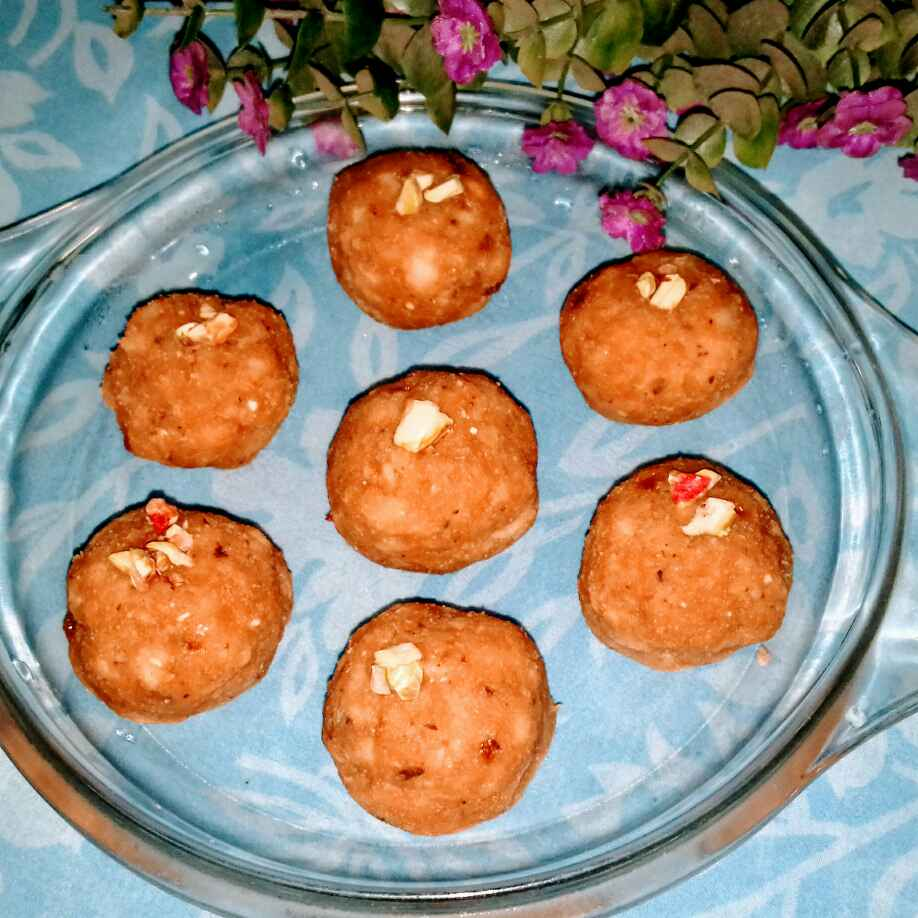 Photo of Jackfruit seeds ladoo. by Latha Nair at BetterButter