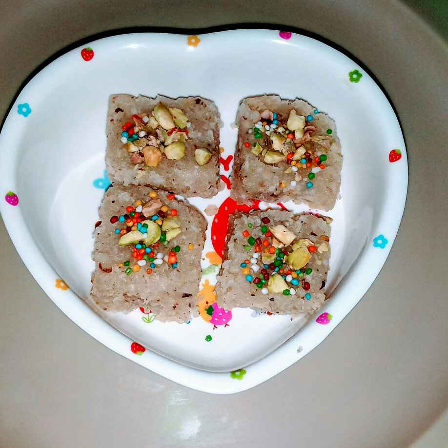 How to make Coconut  burfi.