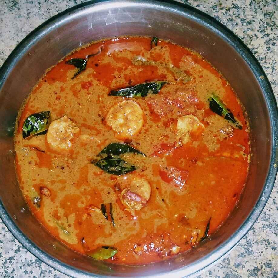 Photo of Prawn Masala curry. by Latha Nair at BetterButter