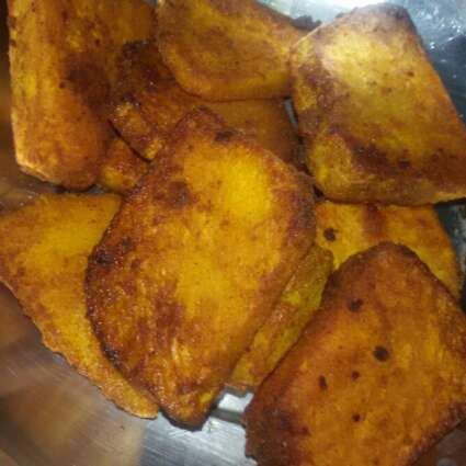 How to make Yam yam fry