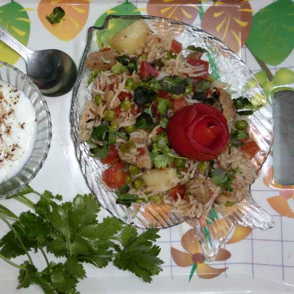 How to make Masala veg and Soya Pulao