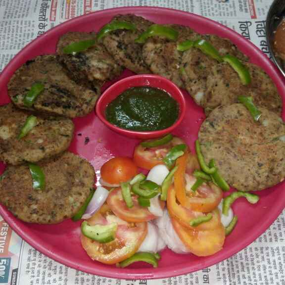 How to make Black gram tikki