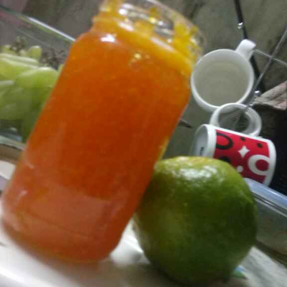 How to make Orange jam (without preservatives )