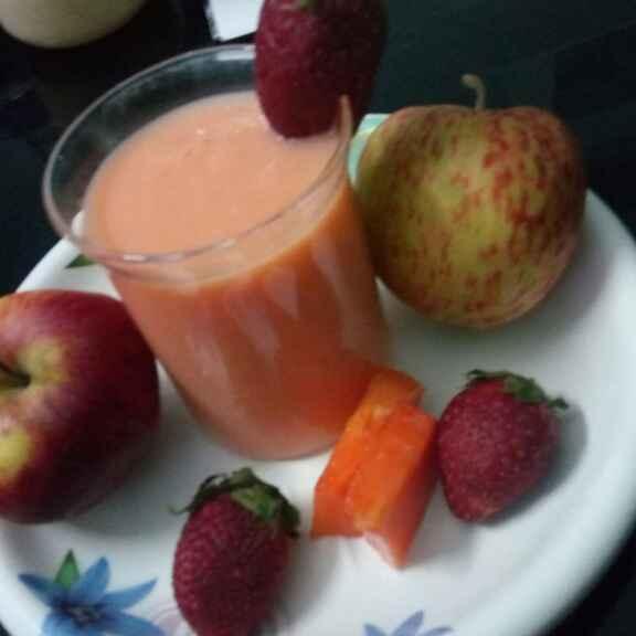 Photo of Papaya smoothie by Pallavi Nayyar at BetterButter