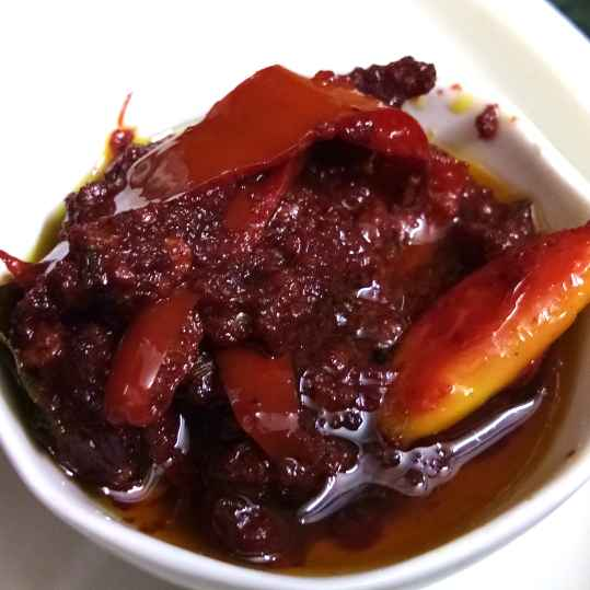Photo of Red chilli,  beetroot & flax seeds pickle by Leena Mehta at BetterButter