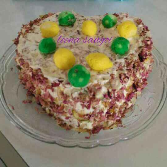 How to make Rasmalai Cake...