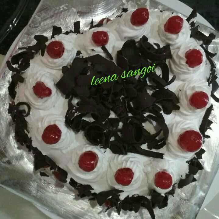 How to make Black forest Cake...