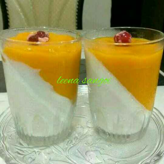 How to make Mango panna cotta..