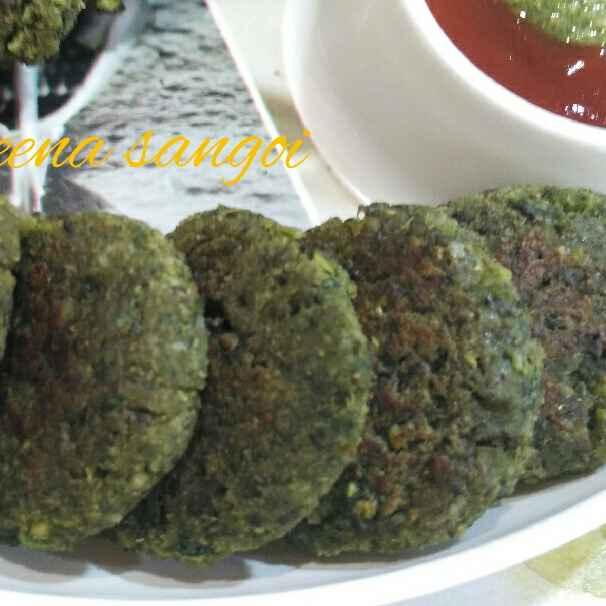 Photo of Harabhara kabab._ Harachana& spinach kabab by Leena Sangoi at BetterButter