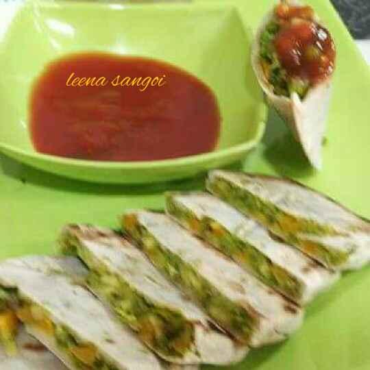 How to make Jowar pita pockets...Jowar pita sandwich..