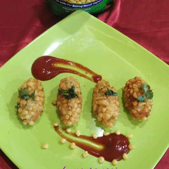 Photo of Boondi croquettes. by Leena Sangoi at BetterButter